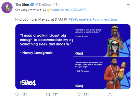 The Sims 4 Ambitions is coming! - The Sim Architect