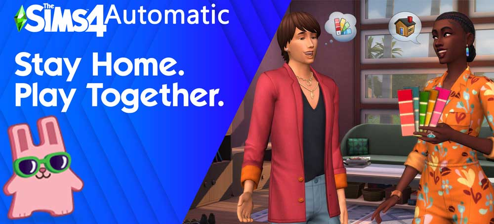 The Sims 4 Automatic 1.75.125.1030 Dream Home Decorator Game Pack