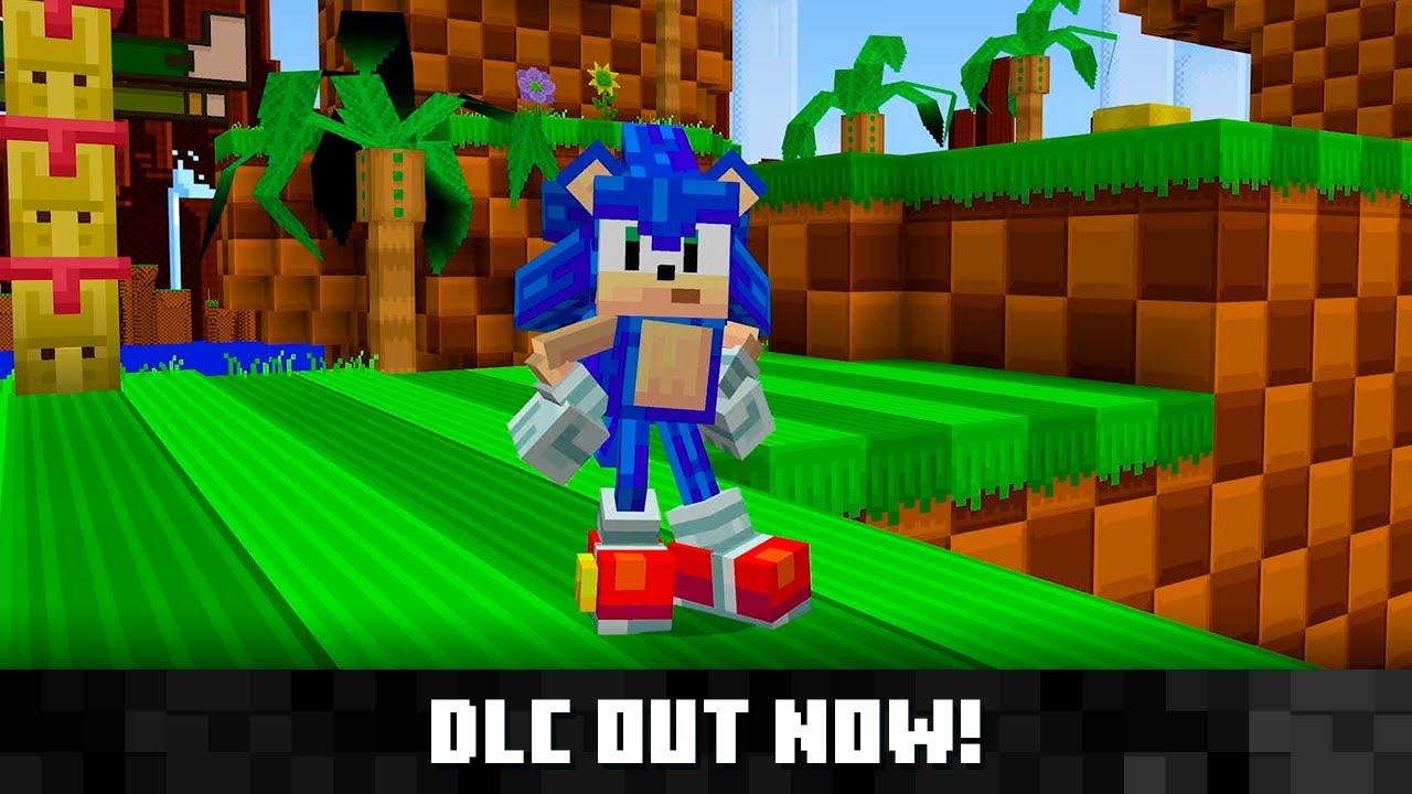 Sonic DLC for Minecraft - The Sim Architect