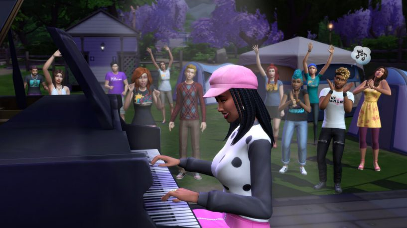 The Sims 4 - Sims Sessions Activities - Perform on Stage