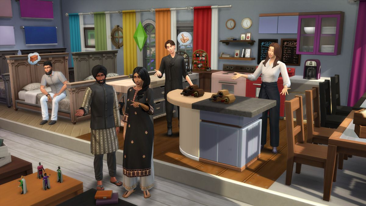 The Sims 4 Swatches Update - New Clothes and a few of the new variations on Base Game Objects...