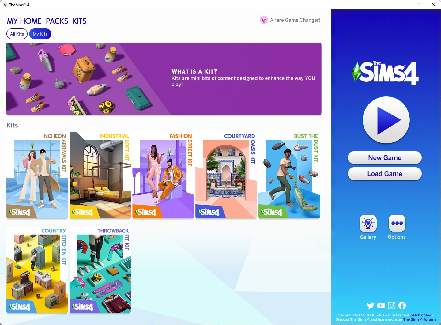 The Sims 4 1.80.69.1030 with Fashion Street and Incheon Arrivals Kits