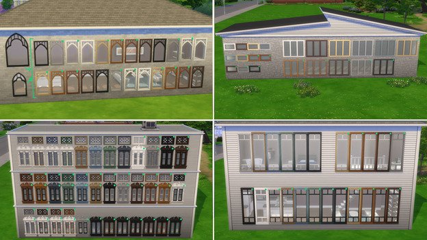 The Sims 4 Color Swatches Update 1.80.69.1030 - September 21, 2021 - The Sim Architect
