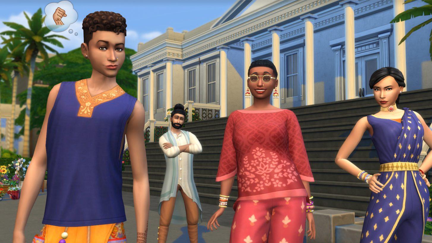 The Sims 4 Fashion Street Kit Pack - The Sim Architect