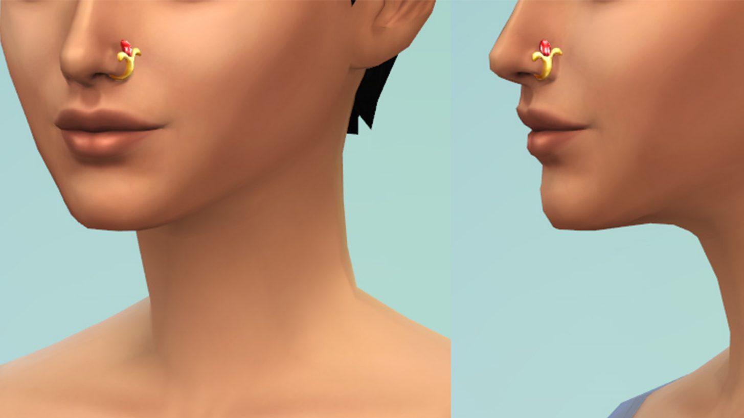 The Sims 4 Fashion Street Kit - Nose Ring