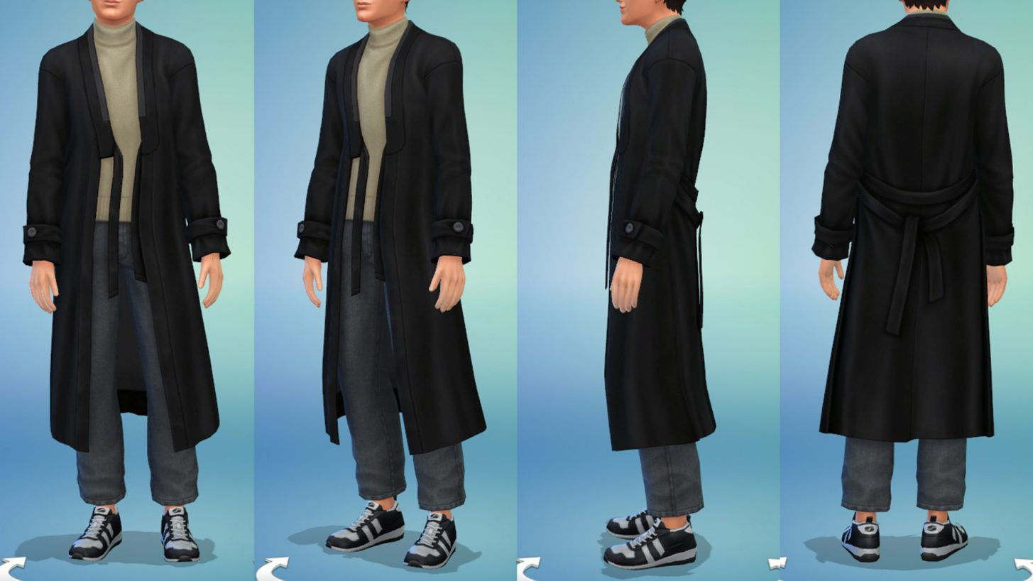 The Sims 4 Incheon Arrivals - Men's Long Coat