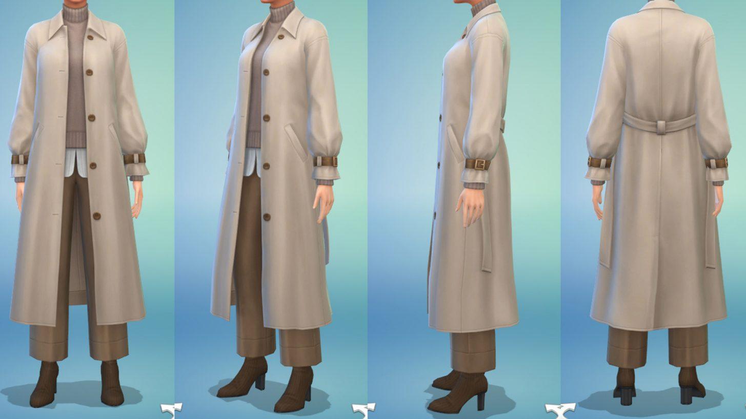 The Sims 4 Incheon Arrivals - Women's Long Coat
